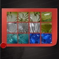 Glass/Crystal pattern by M10tje