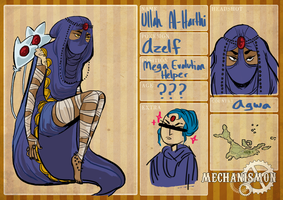 Mechanismon - Mega Evo Helper - Ullah Al-Harthi by greerby