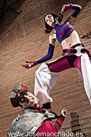Juri Vs Bison by Nebulaluben