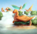 Project: ArgenDex #149 : Dragonite by JennaTheDragon