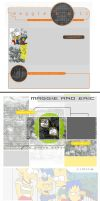 2003: MaggieandEric.com  Site Templates. by simpspin