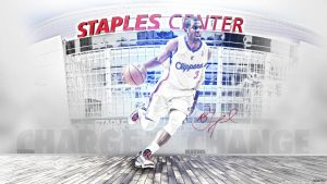 Chris Paul Wallpaper by OwenB23