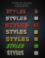 phtshop text styles by dabbex30