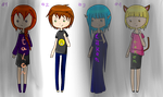 Adoptables [Open] by Souffle-Oswin
