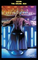Kevin The Drunk Jedi colored by RNABrandEnt