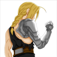 Edward Elric Coloring by AkidaSoren