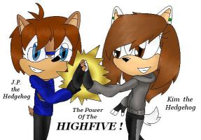 The Power Of The HIGHFIVE by LexyHedgehog