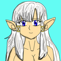 Random Elf Girl by JohnZScott