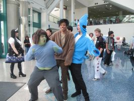 Regular Show Cosplay AX2011 by gerako