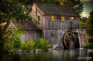 Midway Village Pump House by CavalierZee