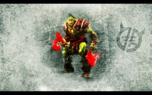 Heroic Orc by JyakuDesigns