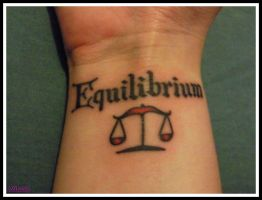 Equilibrium Tattoo by Broken25