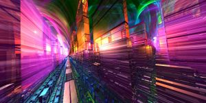 MandelBox Ave Lit by Capstoned
