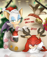 Merry Christmas 2013!!! by Unichrome-uni