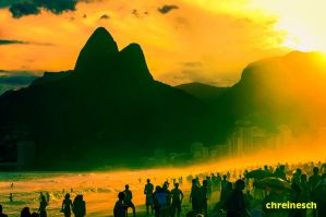 The Day Ends In Rio by oO-Rein-Oo