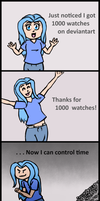 1000 Watches by Hira-Dontell