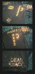 Commissioned Dead Space shirts by TwistedAsphyxia