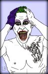 Jared Leto Joker Redesigned by HARLEYMK