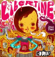 Libertine issue 2 cover art by BenjaminCee