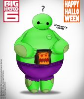 TRICK OR TREAT: Baymax by PsychoKIRA