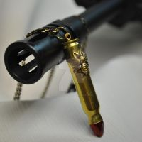 Remington Bullet Shell Pendent by KaleidoscopeEyez