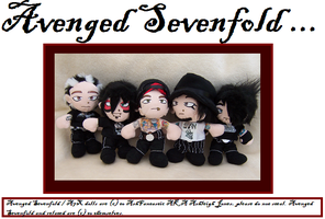 Avenged Sevenfold Plushies by AshFantastic