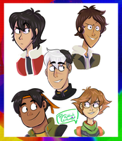 VOLTRON: LEGENDARY DEFENDER! by AudreyAllStar