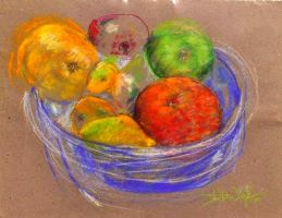 Bowl of Fruit by DVanDyk