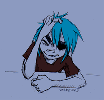 Gorillaz: Headache by Zilkenian