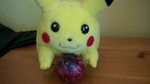 BIG CHU LIKES THE EYEBALL by impostergir007