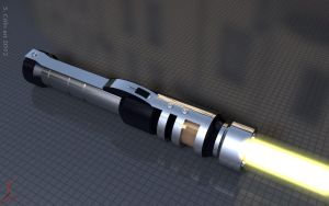 Qu Rahn lightsaber by Yowan2008