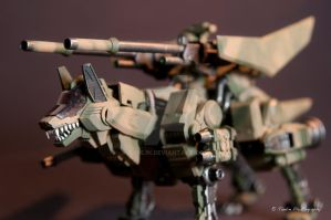 Zoids CW AC custom paint by tanlin