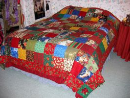 Christmas Quilt by ThreeRingCinema