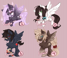 MLP Adopt Auction 1 - CLOSED! Congrats, winners! by Narrowed