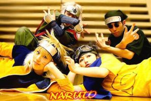 Naruto Cosplayers by ZenoTakamine