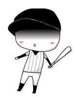 OFF ~ The Batter (chibi) by Leticiahtk