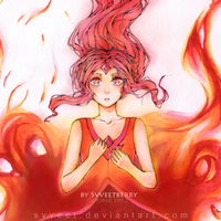 Adventure Time - Flame Princess by Svveet