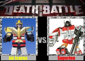 Death Battle Jet Icarus vs Superion by Kaizer617