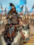 Genghis Khan by Pervandr