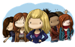 Doctor Who Companions by Veronnikka