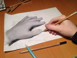 What is realy real? - Anamorphic Art by DeVitoMirco