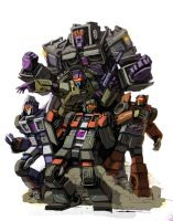 Stunticons by Klejpull