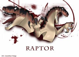 Raptor -Colored- by VenomEXsoldier