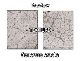 - TEXTURE - cracking concrete by Von-Chan