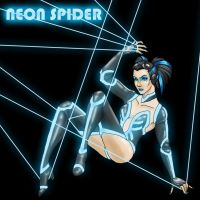 The Neon Spider revisited by JesIdres