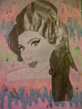 Amy Winehouse After by katiekoo