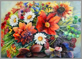 Flowers by JoaRosa