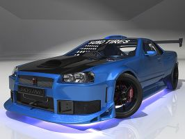 Nissan Skyline by sevenmelons83