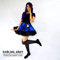 Princess Luna Galaxy MLP Cosplay Skirt by DarlingArmy