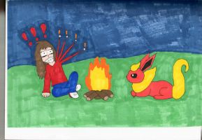 Flareon and Me by Itachislilgirl